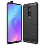 Flexi Slim Carbon Fibre Case for Xiaomi Mi 9T / Redmi K20 Pro - Black